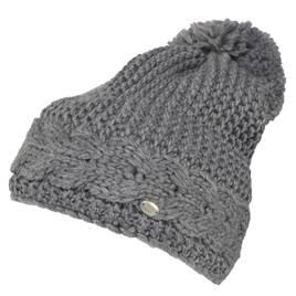 e0998e9f6c1 Pikeur Cable Knit Bobble Hat - Grey Melange