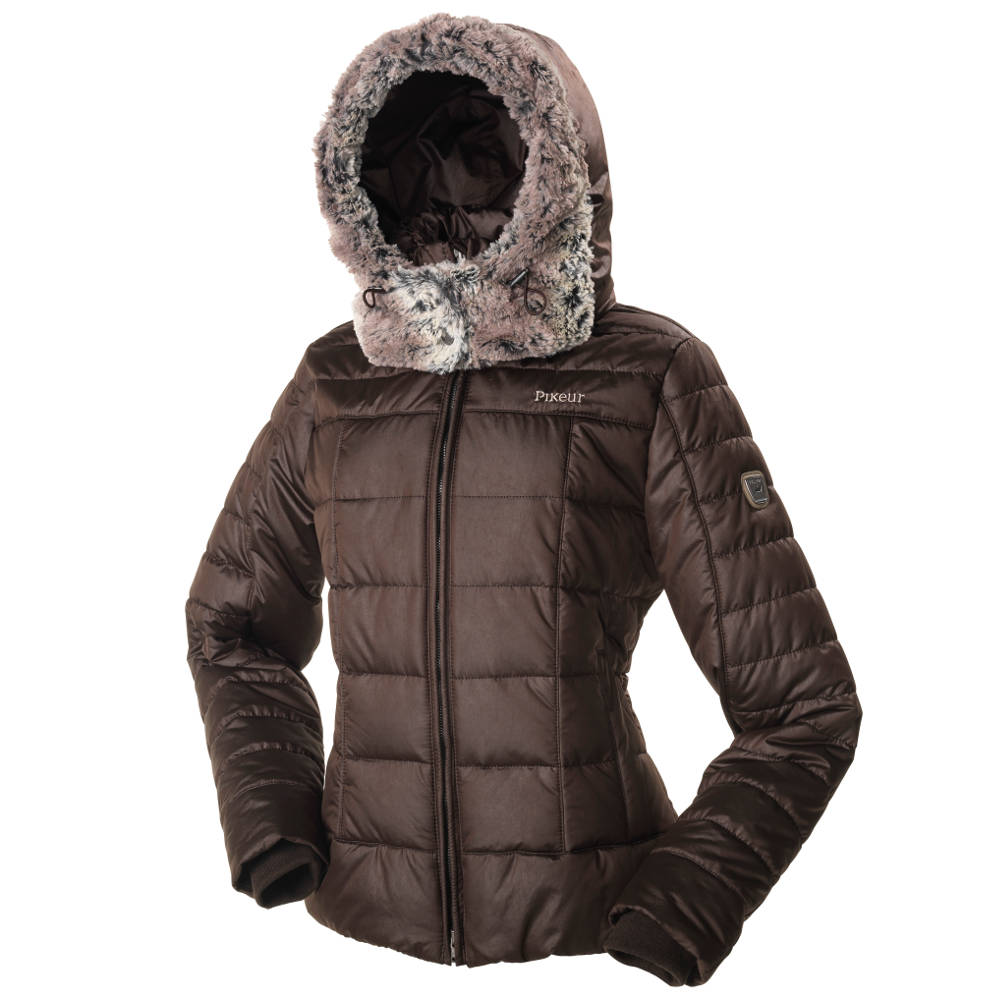 Brown Padded Jacket Ladies - JacketIn