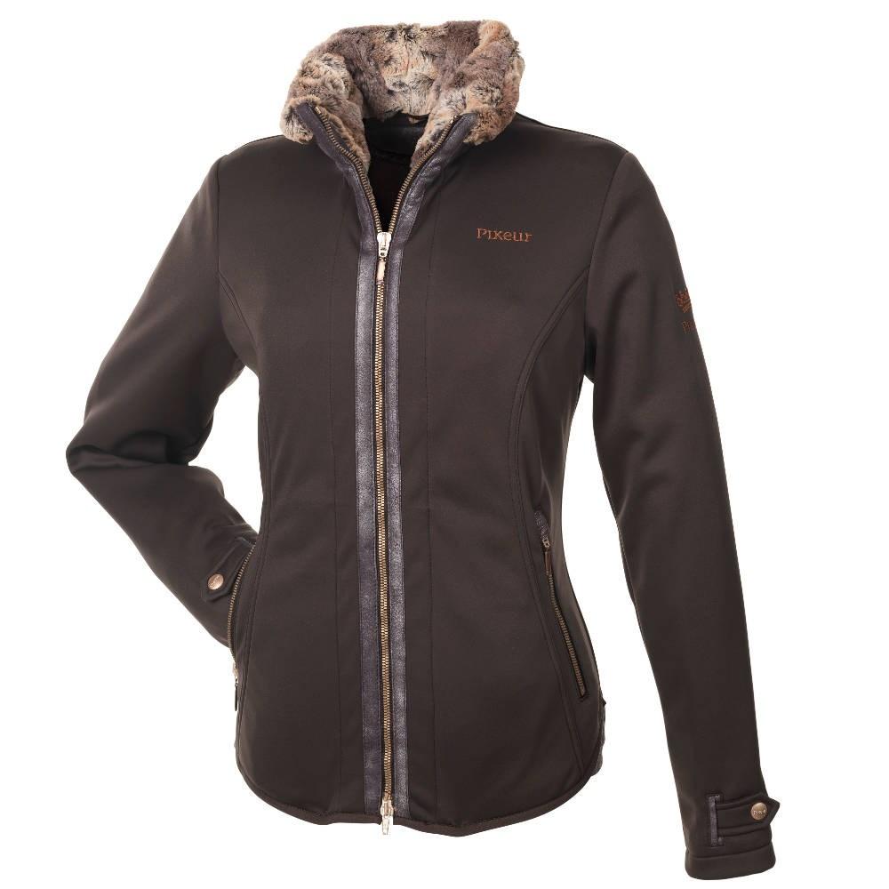 39021c0c2d39 Pikeur Lucilla Softshell Ladies Jacket Premium Collection - Brown - Redpost  Equestrian
