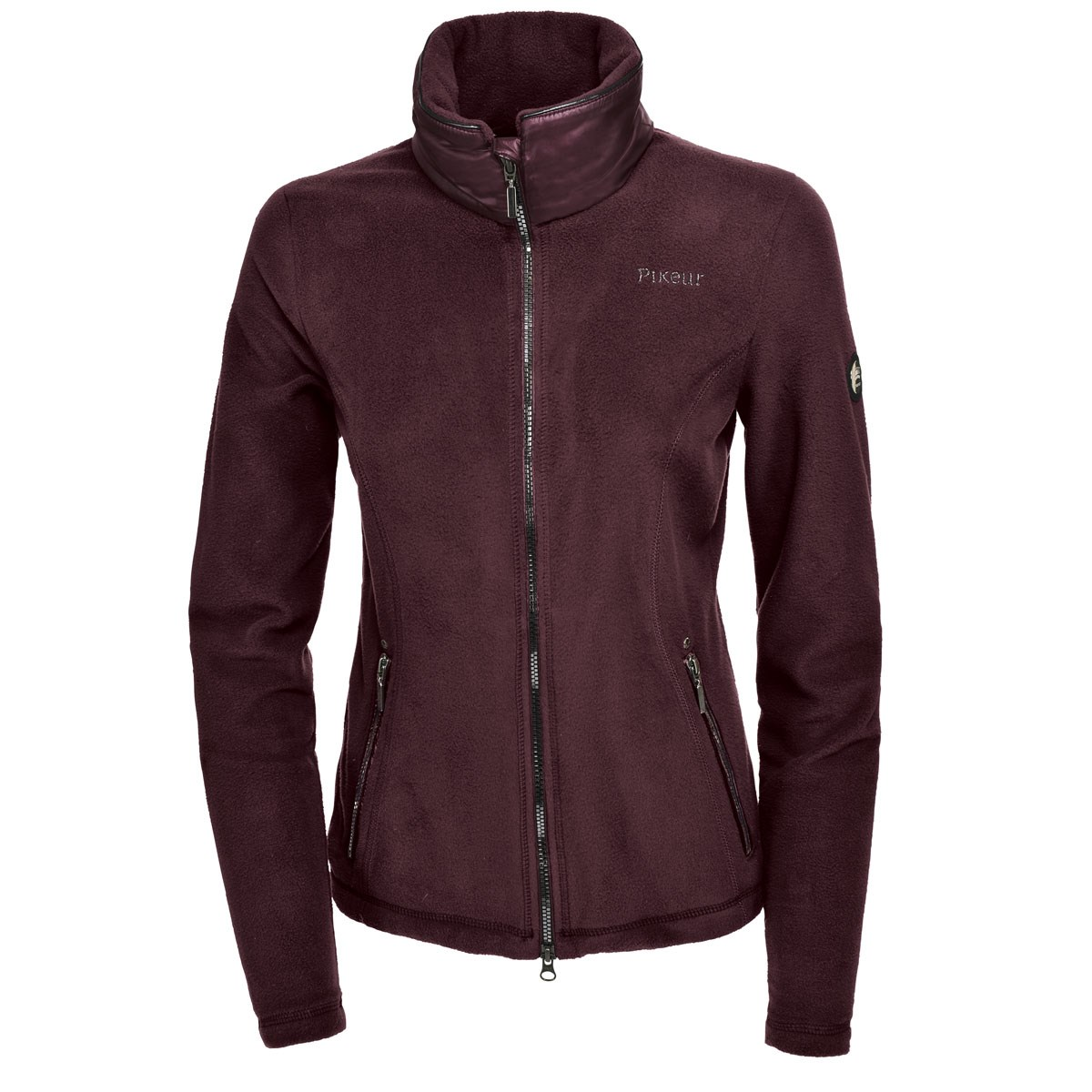 56ea97d64 Pikeur Rajana Premium Ladies Fleece Jumper - Blackberry