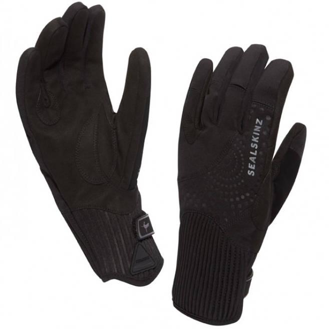 Sealskinz Elgin Waterproof Ladies Riding Gloves - Black - Redpost Equestrian