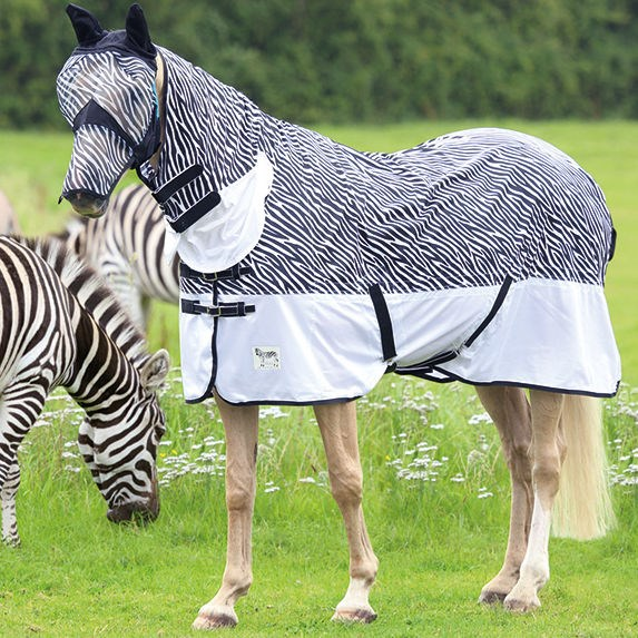 Shires Tempest Zebra Fly Combo Rug