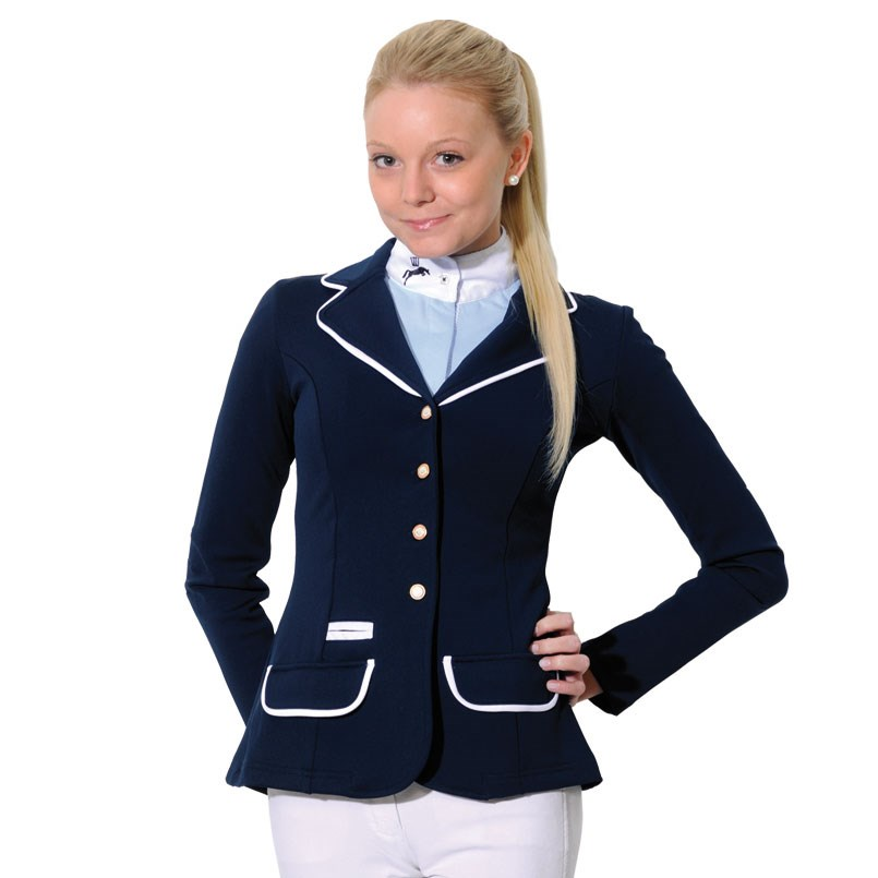 Spooks Show Jacket Ladies with Piping - Blue/White - Redpost ...