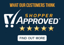 100% of our customers would recommend us to a friend on Shopper Approved